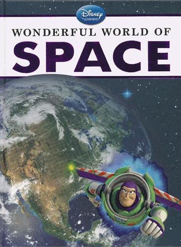 Disney Learning: Wonderful World of Space 迪士尼科普:神奇的宇宙空间(精装) ISBN9781423149736