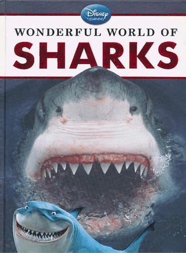 Disney Learning: Wonderful World of Sharks 迪士尼科普:神奇的鲨鱼世界(精装) ISBN9781423168492