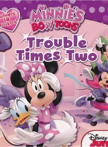 Mickey Mouse Clubhouse: Trouble Times Two 米奇妙妙屋:双倍的麻烦 ISBN9781423164128