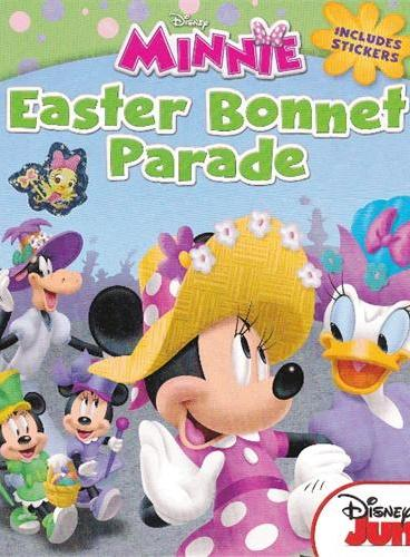 Mickey Mouse Clubhouse: The Easter Bonnet Parade 米奇妙妙屋:复活节的头饰游行 ISBN9781423164166
