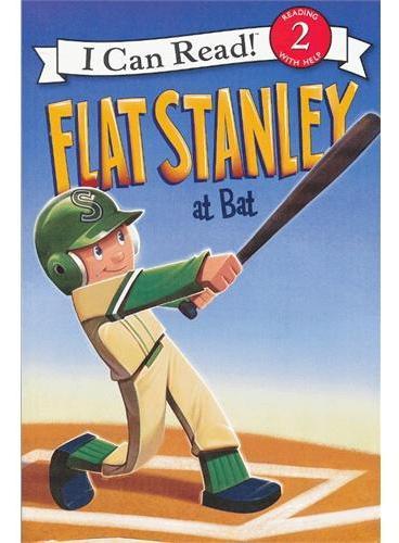 Flat Stanley at Bat无聊的史丹利上场击球(I Can Read,Level 2)ISBN9780061430121