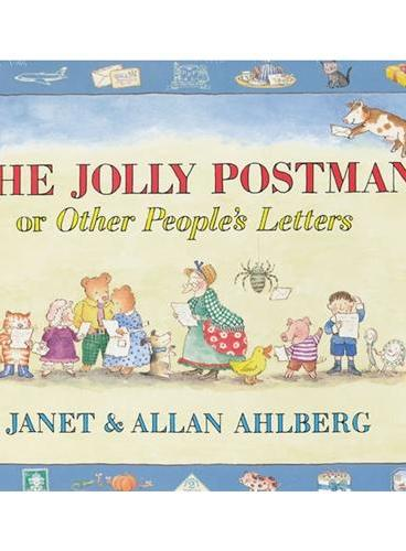 The Jolly Postman or Other People`s Letter [Hardcover] 圣诞邮递员(大奖绘本,25周年纪念版,精装)ISBN 9780670886241