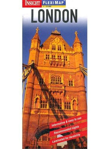 Insight Fleximap London(ISBN=9781780053554)