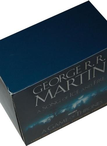 Game of Thrones 5-copy boxed set (George R. R. Martin Song of Ice and Fire Series)《冰与火》5册套装(ISBN=9780345540560)