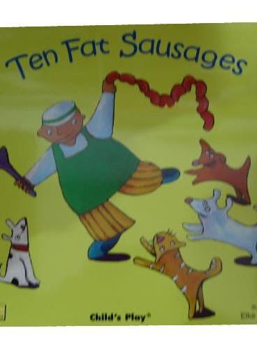 Ten Fat Sausages 十个香肠 (2006年学龄前儿童实用金奖) ISBN 9781904550310
