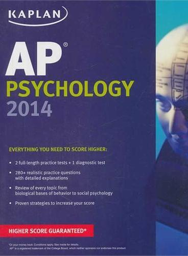 KAPLAN AP PSYCHOLOGY 2014