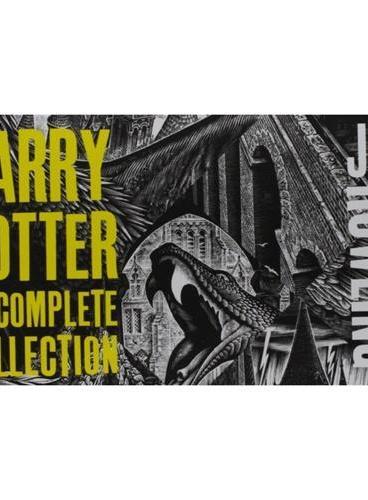 The Complete Harry Potter Collection (Adult Cover) 《哈利-波特1-7全集》(英国成人封面版,最新版)
