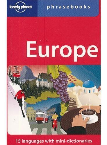 Europe Phrasebook 4(ISBN=9781741799736)