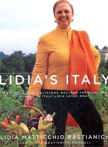 LIDIA`S ITALY(ISBN=9781400040360)