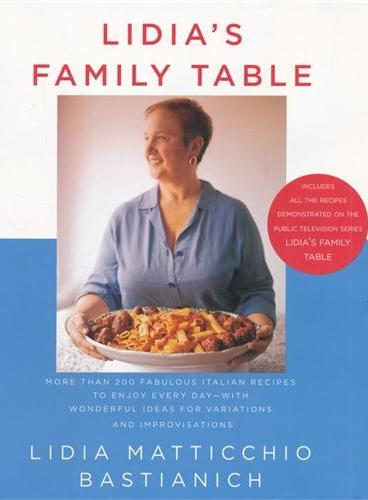 LIDIA`S FAMILY TABLE(ISBN=9781400040353)