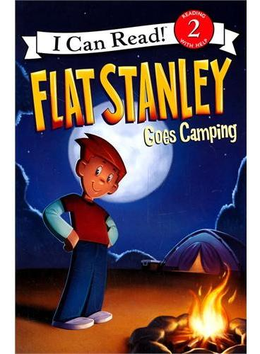 Flat Stanley Goes Camping斯坦利去露营(I Can Read, Level 2)ISBN9780061430152