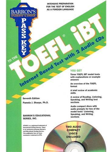 PASS KEY TO THE TOEFL IBT 7E PKG  ISBN=9780764197017