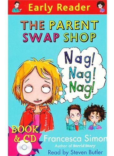 The Parent Swap Shop  (Orion Early Reader, Book/CD) 改变爸妈(Simon, Francesca故事, 书+CD) ISBN 9781409132011