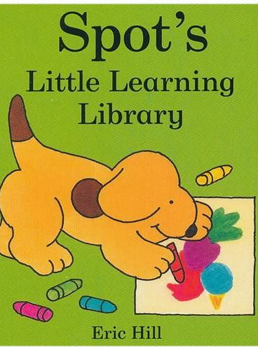 Spot`s Little Learning Library board book 小玻的小小图书馆套装(共4册 卡板书) ISBN 9780723266570