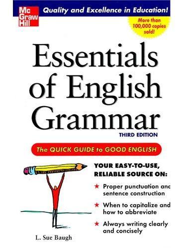 ESSENTIALS ENGLISH GRAMMAR 3E(ISBN=9780071457088)