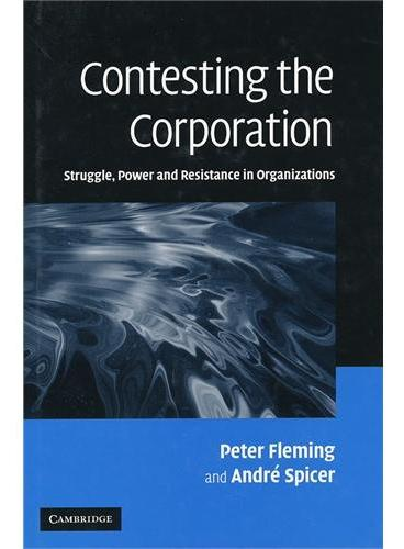 Contesting the Corporation(ISBN=9780521860864)