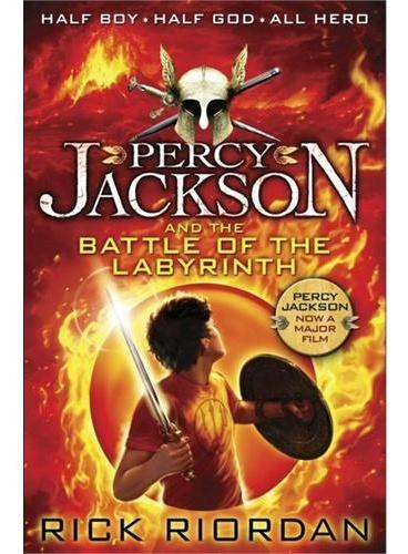 Percy Jackson and the Battle of the Labyrinth 波西·杰克逊与迷宫之战 ISBN 9780141346830