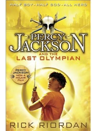 Percy Jackson and the Last Olympian 波西·杰克逊与最终之神 ISBN 9780141346885