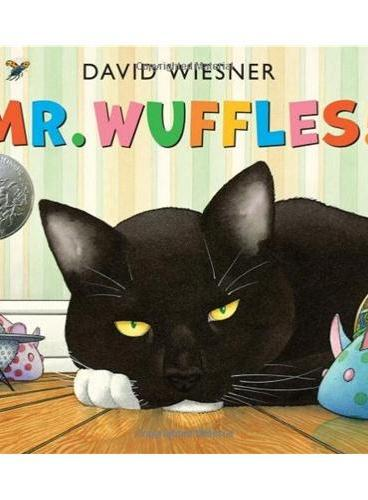 Mr Wuffles! [Hardcover] 华夫先生!精装版(2014年凯迪克银奖、大卫-威斯纳最新作品) ISBN9781849397803