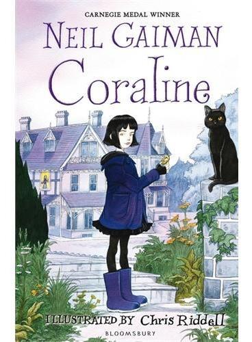 Coraline 鬼妈妈 (尼尔-盖曼名作,《坟场之书》姊妹篇) ISBN9781408841754