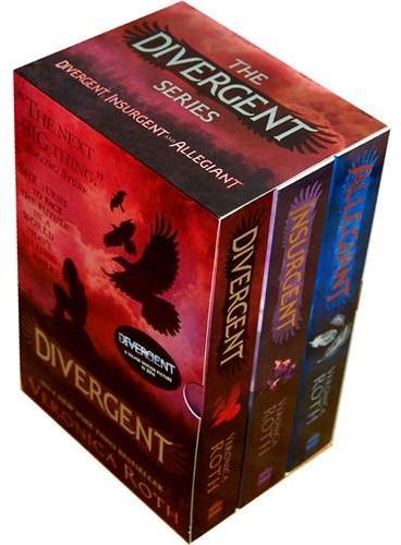 Divergent Series Boxed Set (Books 1-3) 分歧者三部曲套装(全3册,英国版)ISBN 9780007538041