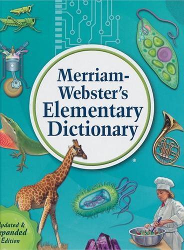 M-W's Elementary Dictionary 韦氏基础字典(适合8-11岁,例句引自经典儿童文学)ISBN9780877796756