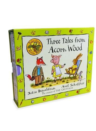 Acorn Wood (3-minibooks)橡树林故事集(翻翻书,3册)ISBN9781447270928