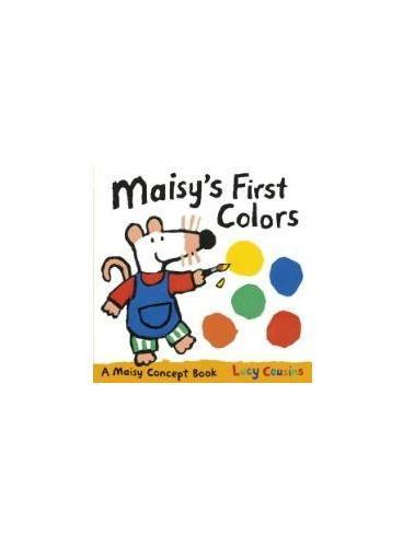 Maisy's First Colors 小鼠波波系列:波波的第一本色彩书 ISBN9780763668044