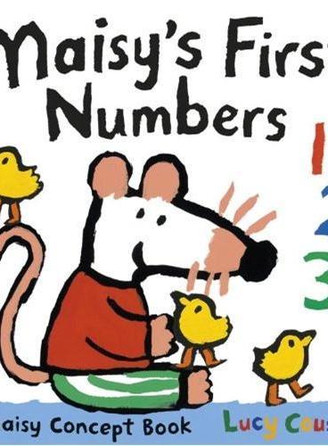 Maisy's First Numbers 小鼠波波系列:波波的第一本数数书 ISBN9780763668051