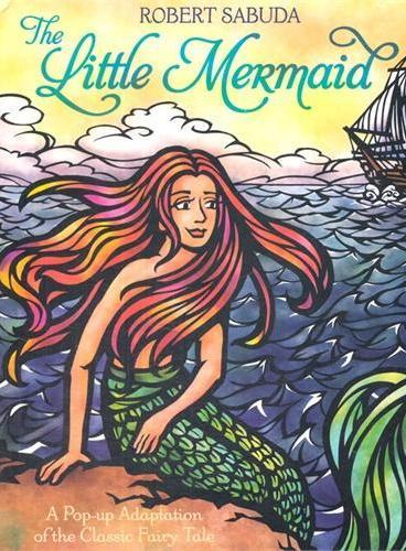 The Little Mermaid (Pop-Up Classics,Hardcover,by Robert Sabuda)小美人鱼