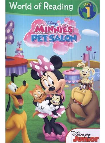 Minnie's Pet Salon 迪士尼阅读世界第一级:米妮的宠物沙龙 ISBN 9781423184812