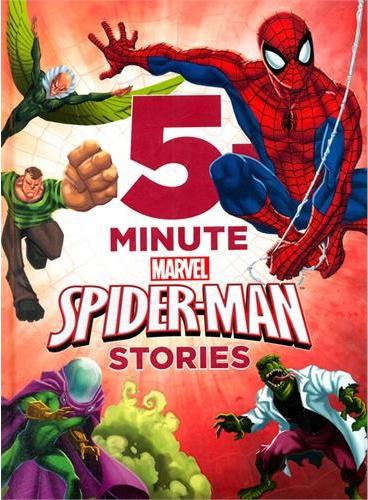 5-Minute Spider-Man Stories 迪士尼五分钟蜘蛛侠故事书(精装) ISBN 9781423177869