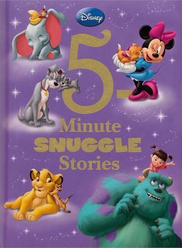 5-Minute Snuggle Stories 迪士尼五分钟睡前小故事书(精装) ISBN 9781423167655