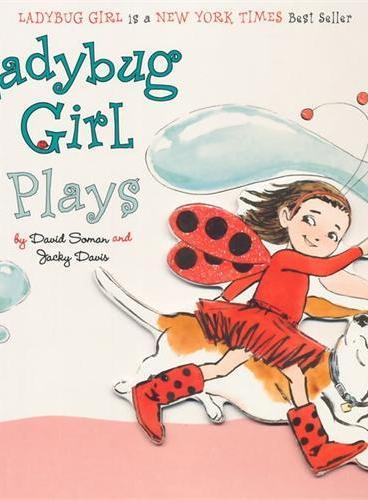 Ladybug Girl Plays [Board Book]瓢虫女孩爱玩耍[卡板书]ISBN9780803738928