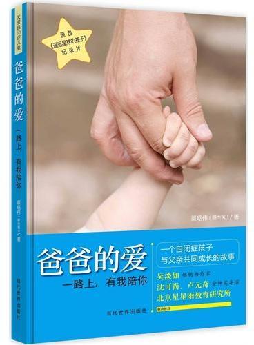 爸爸的爱:一路上,有我陪你(吴淡如、沈可尚、卢元奇、北京星星雨教育研究所 联袂推荐)