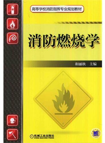 消防燃烧学(高等学校消防指挥专业规划教材)