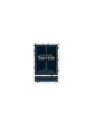Calculating Success(ISBN=9781422166390)