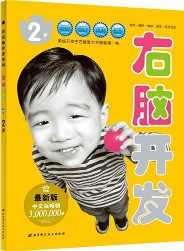(最新第3版)左右脑开发系列2--2岁右脑开发(畅销300万册,全面均衡开发左右脑潜能,获千万好评的经典儿