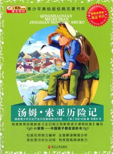 中小学生阅读系列之青少年美绘版经典名著书库--汤姆·索亚历险记 升级版