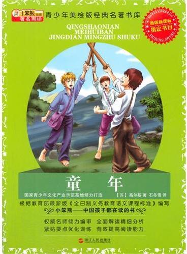 中小学生阅读系列之青少年美绘版经典名著书库--童年:升级版