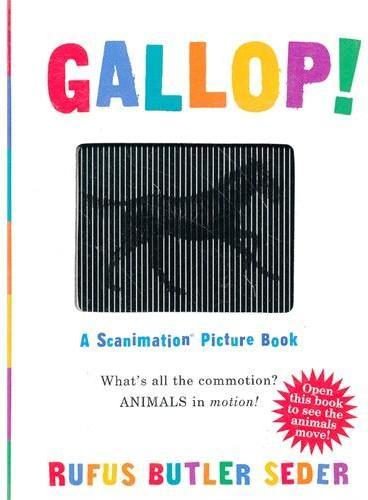A Scanimation Book: Gallop! 神奇动画书:奔跑 ISBN9780761147633