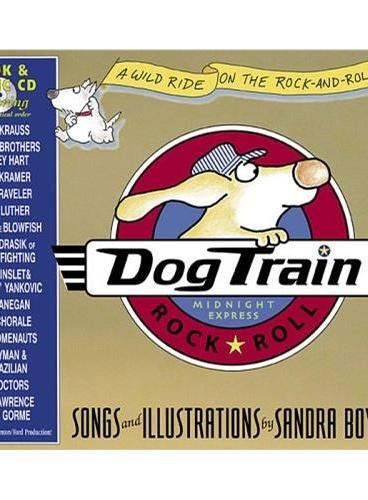 Dog Train  [Board Book,by Sandra Boynton] 小狗特快(精装,含CD) ISBN9780761139669