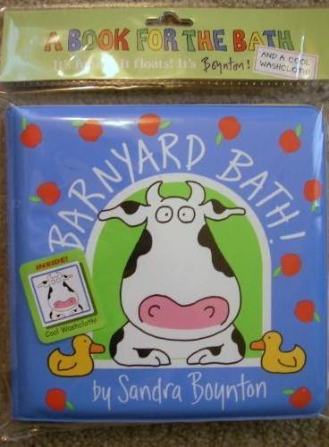Barnyard Bath (Bath Book,by Sandra Boynton) 谷仓洗澡(洗澡书) ISBN9780761147183