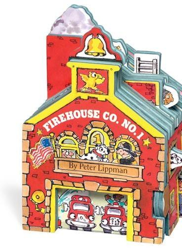 Mini House: Firehouse Co. No. 1 迷你屋系列:消防站(卡板书) ISBN9781563056635