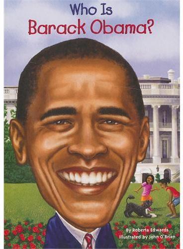 Who Is Barack Obama? 漫画名人传记:巴拉克﹒奥巴马 ISBN9780448453309