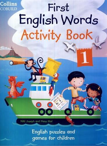 Collins First English Words Activity Book 1 柯林斯少儿英语:单词练习册1(含CD)