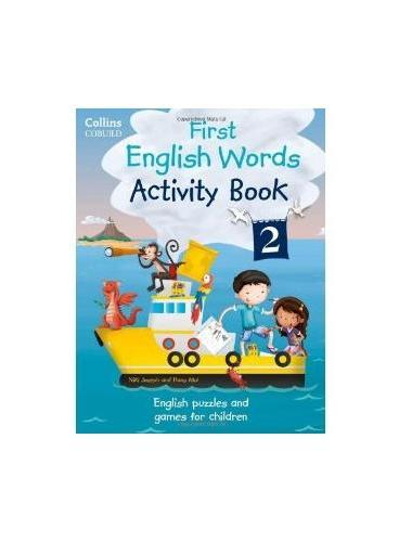 Collins First English Words Activity Book 2 柯林斯少儿英语:单词练习册2(含CD) ISBN9780007523122