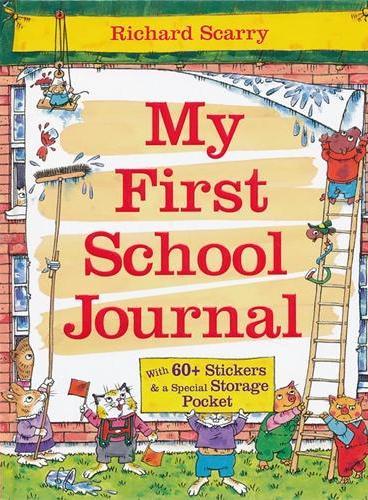 Richard Scarry My First School Journal 斯凯瑞童书:第一本上学笔记(精装) ISBN9781743003824
