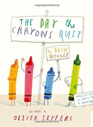 The Day the Crayons Quit [Hardcover]蜡笔辞职的日子 ISBN9780399255373
