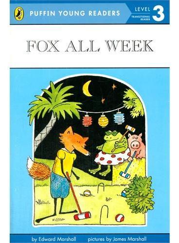 Fox All Week 小狐的一周 ISBN9780448478678